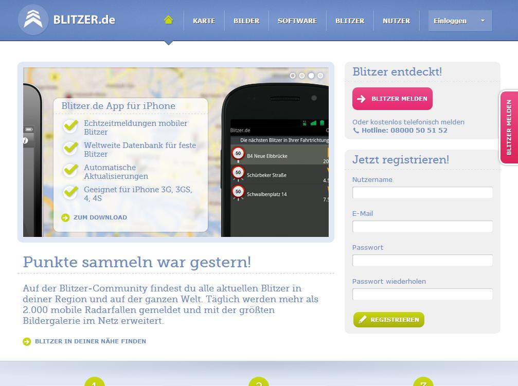 blitzer.de