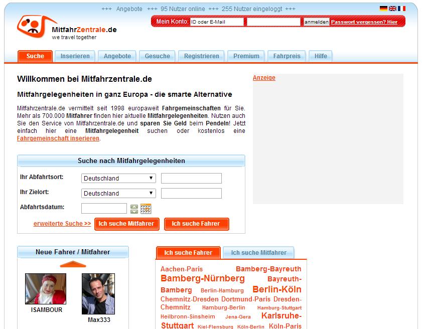 mitfahrzentrale.de